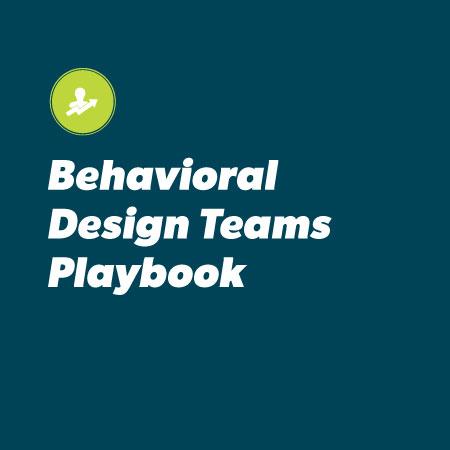 Behavioral-Design-Teams-Playbook